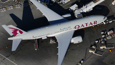 A7-BBB - Boeing 777-2DZLR - Qatar Airways
