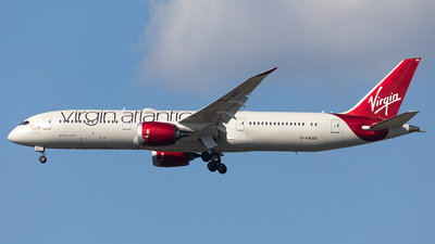 G-VWOO - Boeing 787-9 Dreamliner - Virgin Atlantic Airways