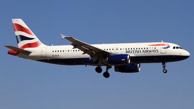 G-EUUI - Airbus A320-232 - British Airways