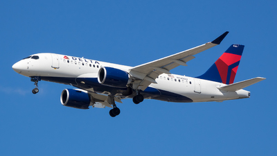 A picture of N130DU - Airbus A220100 - Delta Air Lines - © Stephen J Stein