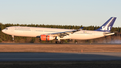 SE-REH - Airbus A330-343 - Scandinavian Airlines (SAS)