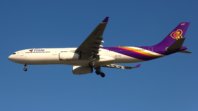 HS-TEQ - Airbus A330-343 - Thai Airways International