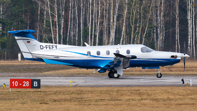 D-FEFY - Pilatus PC-12/47E - Private
