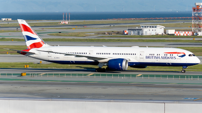 A picture of GZBKC - Boeing 7879 Dreamliner - British Airways - © global_flyer1