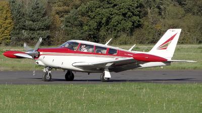 G-AVGA - Piper PA-24-260 Comanche B - Private
