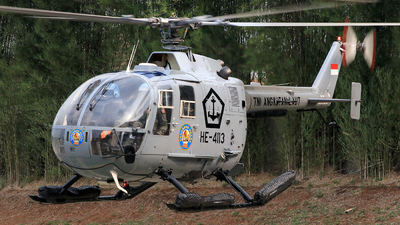 HE-4113 - MBB Bo105CB - Indonesia - Navy