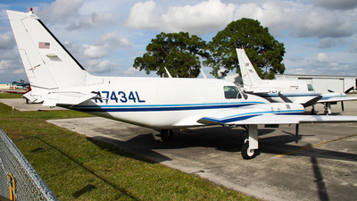 A picture of N7434L - Piper PA31310 - [31822] - © C. v. Grinsven