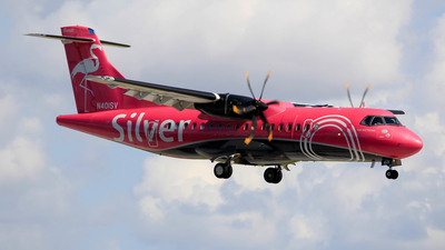 N401SV - ATR 42-600 - Silver Airways