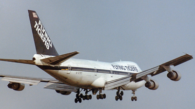 N747FT - Boeing 747-212B - Flying Tigers