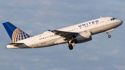 N829UA - Airbus A319-131 - United Airlines