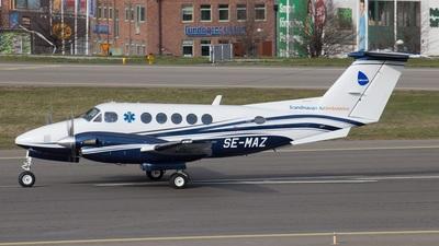A picture of SEMAZ - Beech B200 Super King Air - Babcock Scandinavian AirAmbulance - © Anders Nilsson