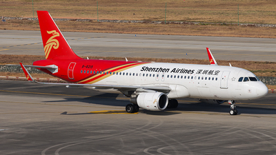 A picture of B8219 - Airbus A320214 - Shenzhen Airlines - © YueYiFeiMa-YYFM