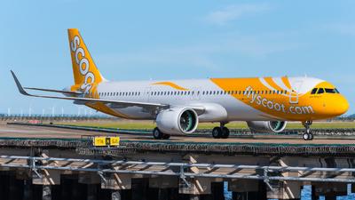 9V-NCB - Airbus A321-271NX - Scoot