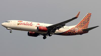 PK-LDJ - Boeing 737-8GP - Batik Air