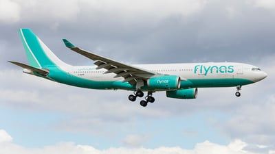 G-GGEN - Airbus A330-243 - Flynas