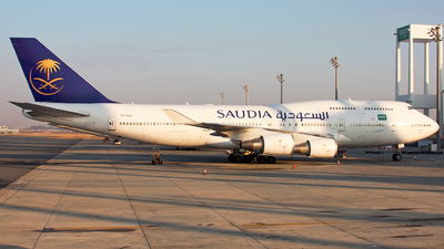 TF-AAJ - Boeing 747-428 - Saudi Arabian Airlines (Air Atlanta Icelandic)