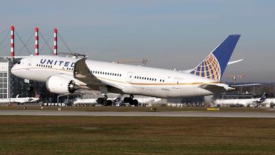 N26902 - Boeing 787-8 Dreamliner - United Airlines