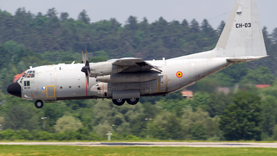 CH-03 - Lockheed C-130H Hercules - Belgium - Air Force