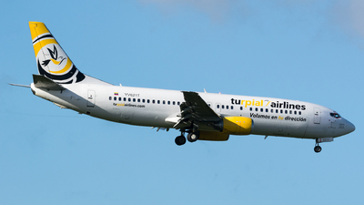 YV621T - Boeing 737-4H6 - Turpial Airlines