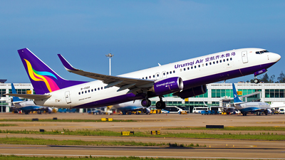 B-1322 - Boeing 737-86W - Urumqi Air