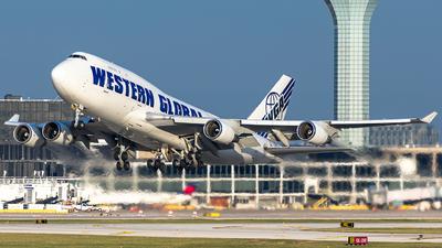 N344KD - Boeing 747-446(BCF) - Western Global Airlines