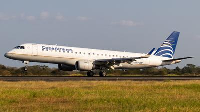 A picture of HP1557CMP - Embraer E190AR - [19000034] - © Moises Moreno