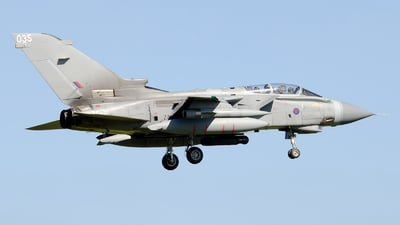 ZA542 - Panavia Tornado GR.4 - United Kingdom - Royal Air Force (RAF)
