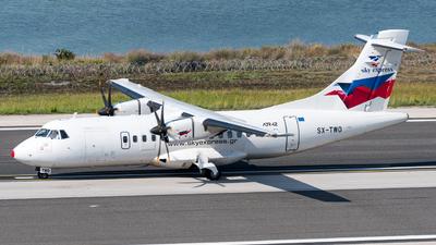 A picture of SXTWO - ATR 42500 - Sky Express - © Michael Baumert