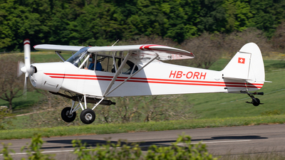 HB-ORH - Piper PA-18-180M Super Cub - Private
