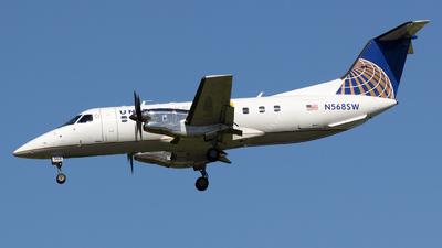 A picture of N568SW - Embraer EMB120ER Brasilia - [120.343] - © Sandra