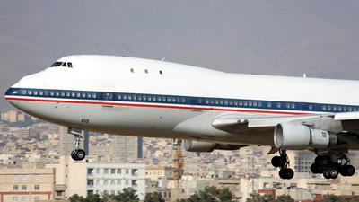 5-8103 - Boeing 747-131(SF) - Iran - Air Force