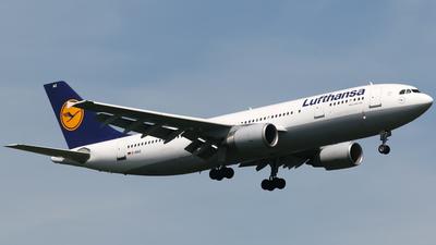D-AIAZ - Airbus A300B4-605R - Lufthansa