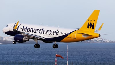 G-ZBAA - Airbus A320-214 - Monarch Airlines