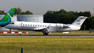 OY-RJC - Bombardier CRJ-100LR - BackBone Aviation