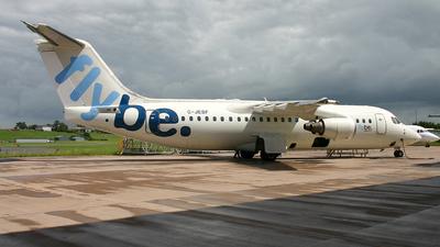 G-JEBF - British Aerospace BAe 146-300 - Flybe