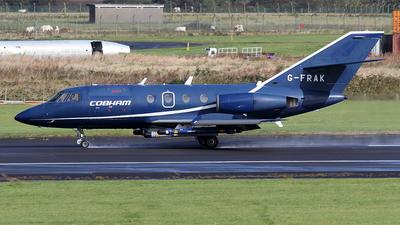 G-FRAK - Dassault Falcon 20D - Cobham Aviation Services