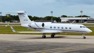 LV-CAZ - Gulfstream G300 - Private