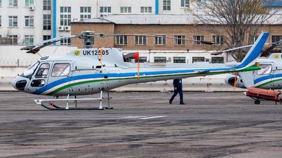 UK12505 - Airbus Helicopters H125 - Uzbekistan Airways