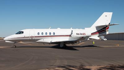 N636QS - Cessna Citation Latitude - NetJets Aviation