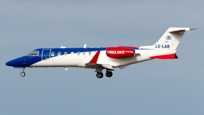 LX-LAR - Bombardier Learjet 45 - Luxembourg Air Ambulance