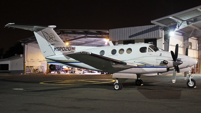 MSP020 - Beechcraft F90 King Air - Costa Rica - Ministry of Public Security