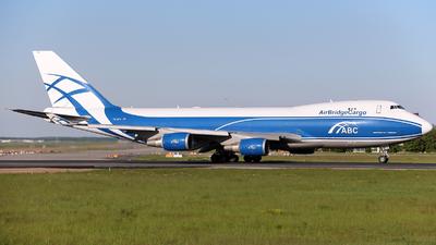 VQ-BFX - Boeing 747-428ERF - Air Bridge Cargo