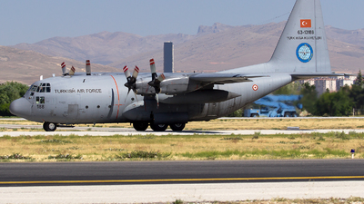 63-13188 - Lockheed C-130E Hercules - Turkey - Air Force
