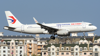 A picture of B8237 - Airbus A320232 - China Eastern Airlines - © sunshy0621