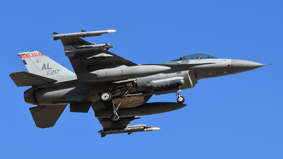 87-0217 - General Dynamics F-16C Fighting Falcon - United States - US Air Force (USAF)