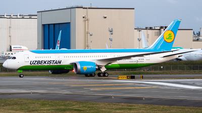 N1791B - Boeing 787-8 Dreamliner - Uzbekistan Airways