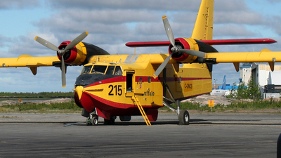 C-GNCS - Canadair CL-215 - Buffalo Airways