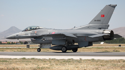 94-0092 - Lockheed Martin F-16C Fighting Falcon - Turkey - Air Force