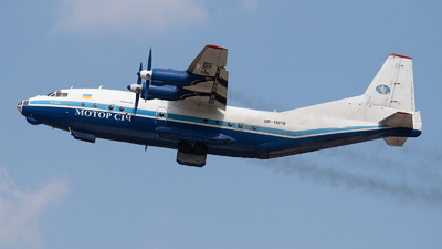 A picture of UR11819 - Antonov An12B - Motor Sich Airlines - © DesertWolf