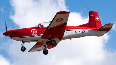 A-913 - Pilatus PC-7 - Switzerland - Air Force